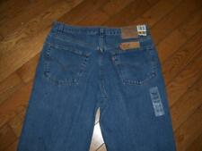 "NEW USA LEVI'S 550 RELAXED FIT DENIM JEANS 38"" W  32"" L DARK BLUE MADE USA"