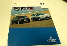 2005  CITROEN C4  Australian Sales Brochure