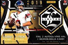 2019 Panini Limited Football Factory Sealed Hobby Box