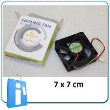 Refrigerador Ventilador Case Fan 7x7 70 mm 0.08A Ball Bearing Spire FD07025B1L3