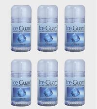6X Ice Guard Twist Up Natural Crystal Deodorant 120g