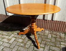 Tisch, Birke, goldgelb, gedrechselt, 1860