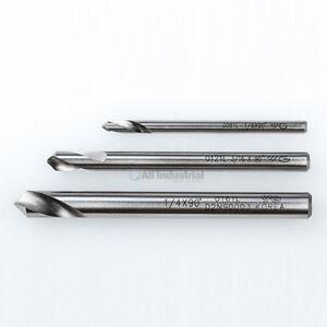 """YG1 NC Spotting Drill 8% Cobalt HSS 1/8, 3/16, 1/4"""" 120 Degree 3 Pc Set CNC"""