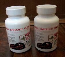 LOT F (2) ULTRA ENHANCE PLUS – BREAST ENHANCEMENT FORMULA–120 CAPS – RETAILS $99