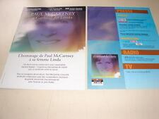 PAUL MC CARTNEY GARLAND FOR LINDA!RARE FRENCH PRESS/KIT