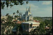 448037 Magic Castle da una distanza Disney World A4 FOTO STAMPA