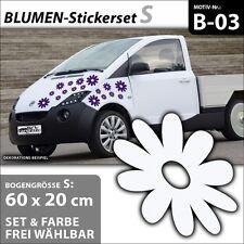 Auto pegatinas flores decoración tatuaje personalización tuningaufkleber dekosticker. b-03