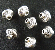 30pcs Tibetan Silver Nice Bicone Spacer Beads 7x6.5mm 1152
