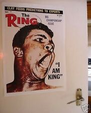 Muhammad Ali Ring Magazine Cover Large Door Poster NEW