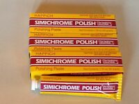 4 Tubes of SIMICHROME POLISH 1.76 ounce Bakelite Test,Metals,Car.Brass,Chrome