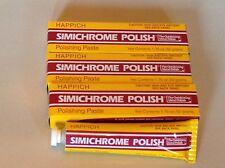 4 Tubes of SIMICHROME POLISH 1.76 ounce Bakelite Test,Metals,Car.Brass,Chrome