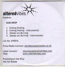 (AD216) Gum Drop, Sinking Feeling - DJ CD