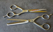 2 Pet Dog Cat Professional Grooming Hair Thinning Scissors Shears Pet Accessory