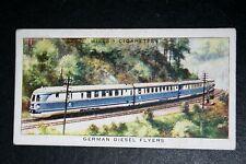 German High Speed Diesel-Electric Train   1930's  Vintage Card # VGC