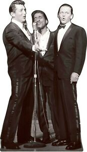 "Dean Martin-Sammy Davis Jr-Frank Sinatra"" - 71""Tall Cardboard Cutout Standee"