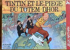 Tintin Et Le Piège Du Totem D'hor Jeux De Société 1992