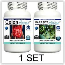2 Parasite Cleanser Pills Detox Colon Liver Cleanse Flush Clean Digestive System