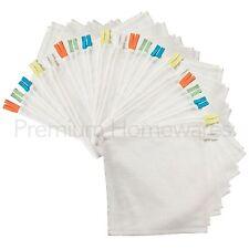 40 x IKEA KRAMA Bianco 100% Cotone Stracci/Flannels per neonati e bambini