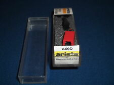 ARISTA A69D CARTRIDGE STYLUS RECORD PHONO PLAYER NEEDLE TETRAD N8-37