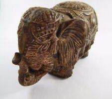 "VINTAGE FABRI ART STUDIO CO. ~ ELEPHANT FIGURE AN36 ~ 5 1/2"" x 4"""