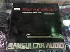 Sansui Car Audio SM-X300 HIGH POWER AMPLIFIER RARE BRAND NEW IN BOX! VINTAGE!