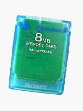 Untested SONY PLAYSTATION2 8MB MEMORY CARD with MagicGate Encryption