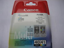 ORIGINAL SET OVP 0615B043 CANON MP450 INK(2) 1xCL41color+1xPG40 black