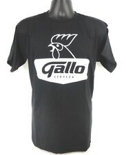 Cerveza GALLO Guatemalan Guatemala Beer Black T-Shirt Playera Size L Large