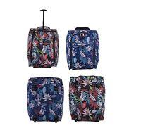 New womens girls wheeled lightweight amazon travel trolley cabin size Case bag