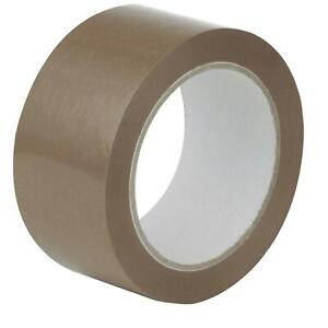 Priory Direct Low Noise Polypropylene Packing Tape - 48mm x 66m
