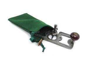 "Greene Sleeves No.6 Tool Bag 11 x 6""  100% Wool"