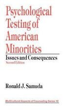 Multicultural Aspects of Counseling and Psychotherapy: Psychological Testing.