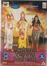 Shree Brahma Vishnu Mahesh Vol.1-10, DVD, Bollywood, Hindu/English Sub. 10 Discs