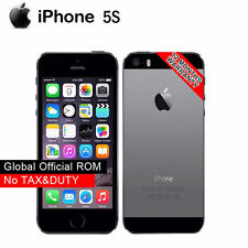 Original iPhone 5S IOS Apple A1533 4G LTE 16GB Mobile Phone Teléfono Unlocked 4G