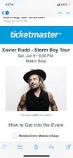 Xavier Rudd 4 tickets to Malkin Bowl Vancouver