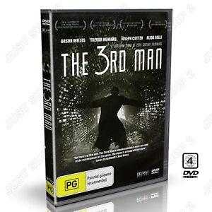 The Third Man 1949 : Joseph Cotten, Alida Valli, Orson Welles : New DVD