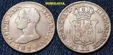 JOSE NAPOLEÓN año 1810 AI. Bonitos 4 Reales Plata de Madrid. Peso 5,88 gr.