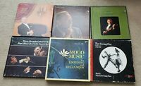 Lot of 6 classical, Swing, Mood Music for listening & relaxation Vinyl LP record