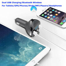 Bluetooth V4.1 3.4A USB Charger FM Transmitter MMC MP3 Player for iPhone HTC LG