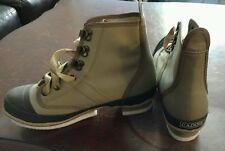 Caddis Canvas Felt Sole Wading Shoe model CA2901S size 5 Tan color free shipping