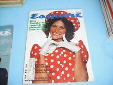 VINTAGE MAY 1973 ESQUIRE MAGAZINE - LINDA LOVELACE