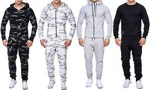 Herren Trainingsanzug Sportanzug Camouflage Jogging Anzug Sweatpant Hose Jacke