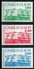Timbre de Service - Conseil de l'Europe N°93 à 95 - 1986
