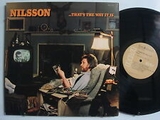 HARRY NILSSON That's The Way It Is ROCK LP RCA Orig Brown Label PROMO