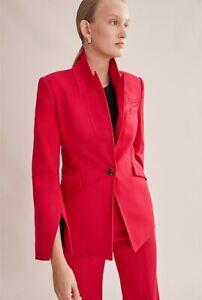 COUNTRY ROAD // Size 6 // Red Statement Split Sleeve Blazer Jacket W2020