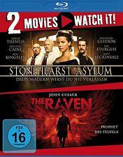 2 Blu-rays * 2 MOVIES - STONEHEARST ASYLUM / THE RAVEN # NEU OVP §