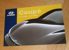 Hyundai Coupe Brochure 1998 - 1.6 & 2.0