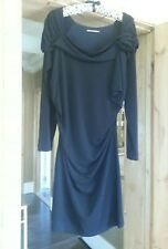 """Sandwich ""  BLACK DRESS  SIZE XL"