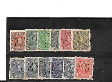 VENEZUELA 1939 GOBIERNO NACIONAL G.N. DEFINITIVES SCOTT 269//284 MINT GROUP.