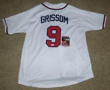 Marquis Grissom Signed Atlanta Braves Baseball Jersey JSA COA